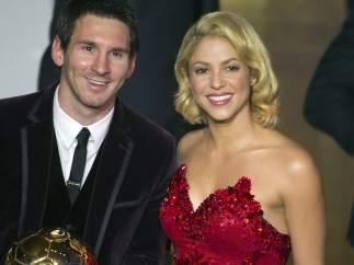 Messi recoge el Balón deOro 2011