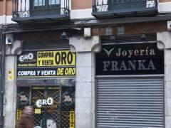 Establecimiento de compro-oro en Madrid