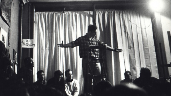 Jack Kerouac Reading Beatnik Poetry in Lower East Side Loft, February 15, 1959