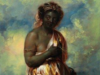 'Allegorie Afrikas' (aus der Serie: Die vier Erdteile), um 1650