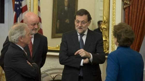 Rajoy en Washington