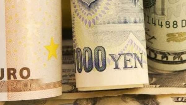 Dólares, yenes y euros