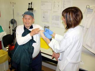 Vacunarse contra la gripe