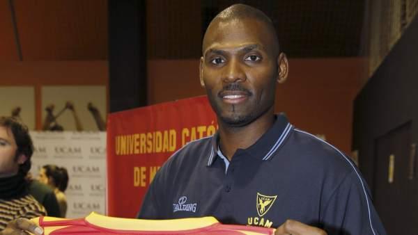 Pete Mickeal con UCAM Murcia