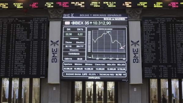 El Ibex 35 recupera los 10.500 puntos y vuelve a niveles de mayo de 2011