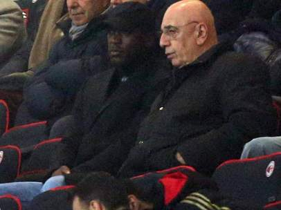 Seedorf y Galliani