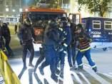 Un bombero detenido en la manifestación de apoyo a Gamonal