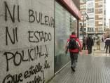 Protesta vecinal en Burgos