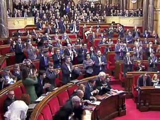 Votaci�n en el Parlament