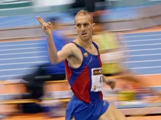 El atleta Sergio Sánchez