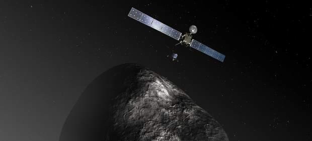 La sonda europea Rosetta despierta este lunes para ir a la caza de un cometa