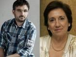 Jordi Évole y Victoria Prego