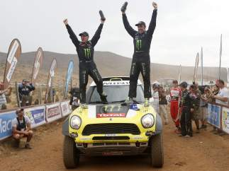 Nani Roma, campeón del Dakar