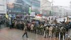 Ver v�deo Contin�an los disturbios en Kiev