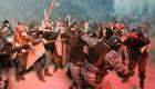 Enfrentamientos contra la polic�a en Kiev