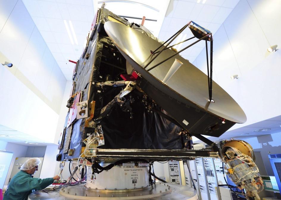 Rosetta parte a la caza de un cometa