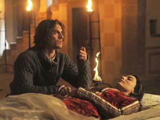 Una escena de Romeo y Julieta