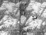 Misteriosa aparición en Marte