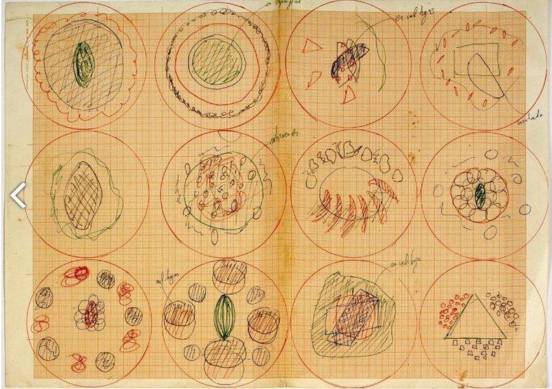 Los dibujos de platos ferran adri expuestos en el for Ferran adria platos