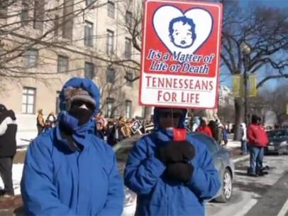 Masiva protesta contra el aborto en EE UU