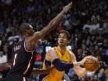 Pau Gasol, en un Lakers-Heat