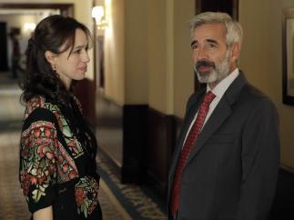 Ariadna Gil e Imanol Arias en Cuéntame