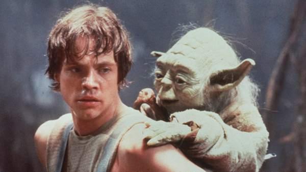 Mark Hamill, en el papel de Luke Skywalker.