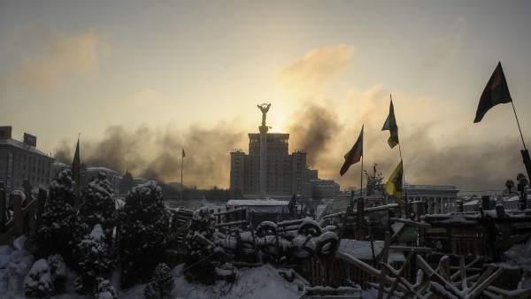 Entra en vigor la amnistía para 268 de los manifestantes ucranianos detenidos
