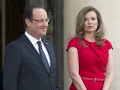 Trierweiler no aclara si todav�a est� enamorada de Hollande