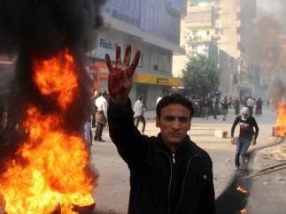 Tercer aniversario de la caída de Mubarak