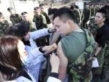 Vacunación contra la gripe en Corea del Sur