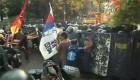 Violento desalojo en Filipinas