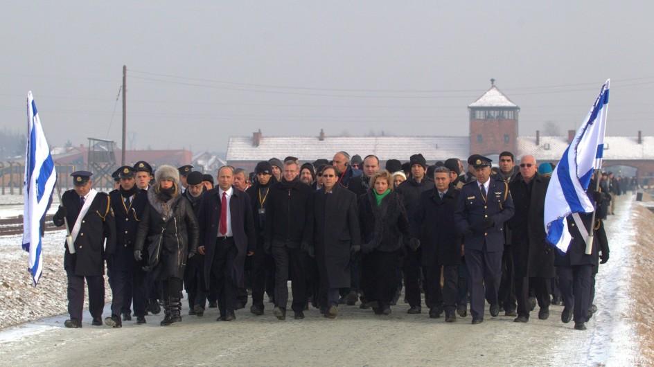 69 aniversario de la liberación de Auschwitz