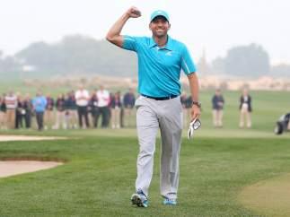 El golfista Sergio García
