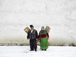 Carpet Sellers (Pojorata, North Romania), 2012