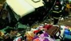 Tr�gico accidente de autob�s en Brasil