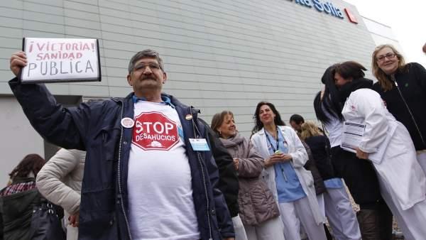 Se anula el proceso de privatización de la sanidad madrileña