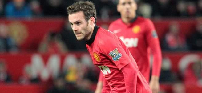 Mata, jugador del United