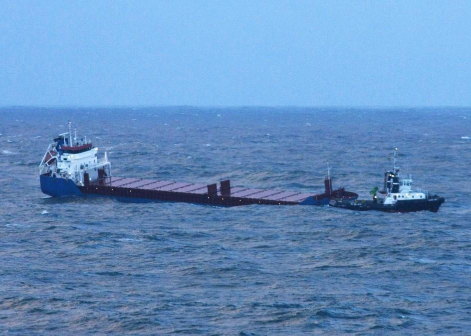 Rescate arriesgado en alta mar