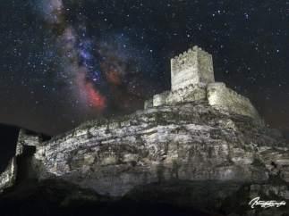 El castillo de Magaña, en la provincia de Soria.