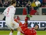 Thiago le da una victoria al Bayern ante el Stuttgart