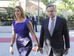 Mar�a Dolores de Cospedal e Ignacio L�pez del Hierro.