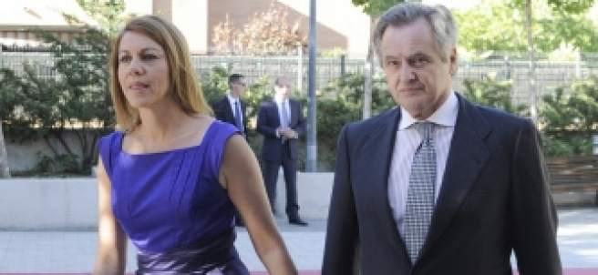 María Dolores de Cospedal e Ignacio López del Hierro.