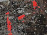 Casas demolidas en Siria