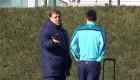 Ver v�deo 'Misteriosa' charla entre Messi y el Tata