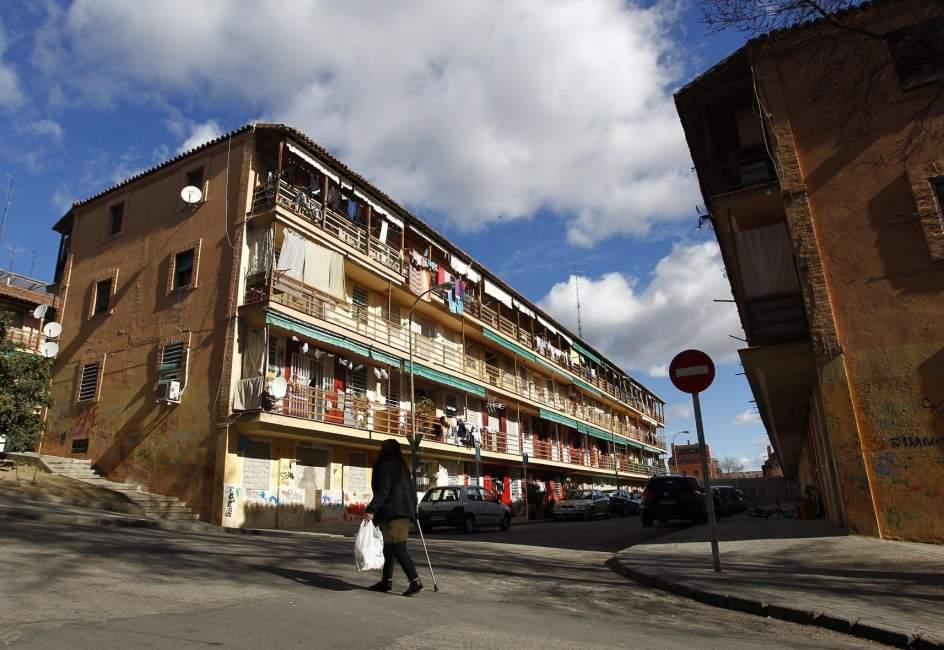 Resultado de imagen de barrios obreros siglo XIX madrid