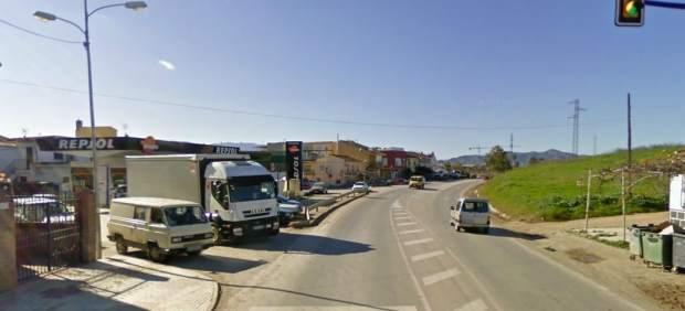 Gasolinera de El Tarajal, Málaga
