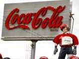 Protesta por el ERE en Coca-Cola