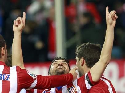 David Villa dedica su gol a Luis Aragonés