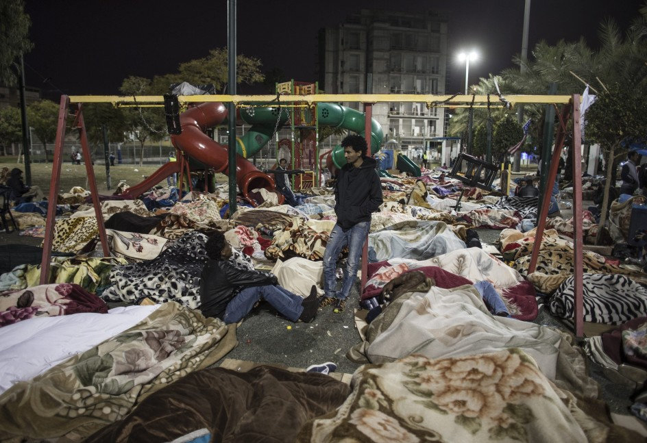 Inmigrantes africanos se niegan a abandonar Israel